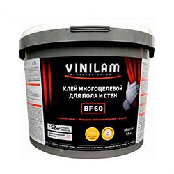 BF60 Клей Vinilam для пола и стен 13 кг фото 0