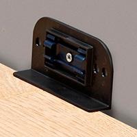 Комплект крепежа для плинтуса 30 шт фото 0