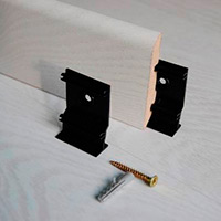 Комплект крепежа МДФ плинтусов фото 0
